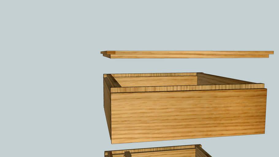 Дадан на 12 рамок упрощенный, из доски 190х35 мм. Dadan 12 frames simplified, from the Board 190х35 mm.