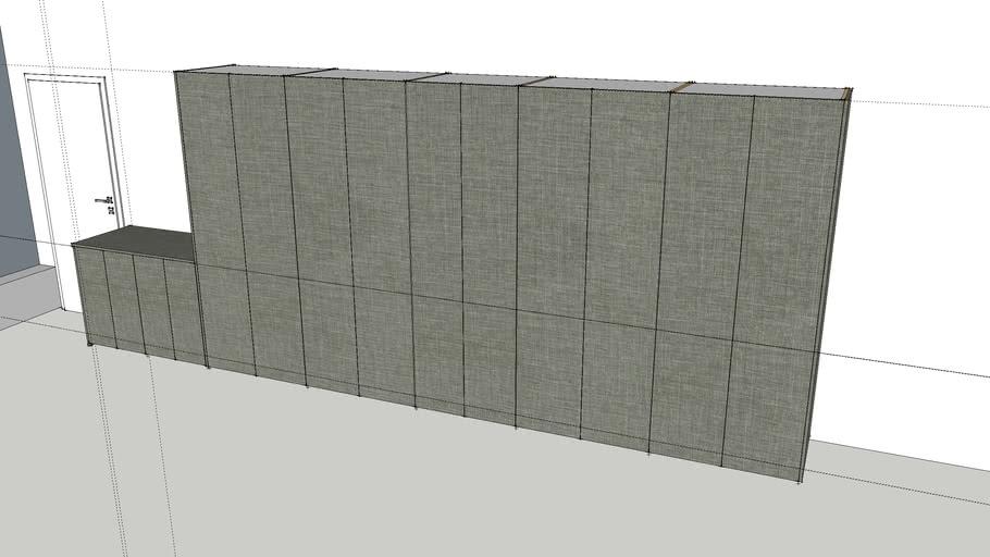 Arcadia Garage Grey Linen
