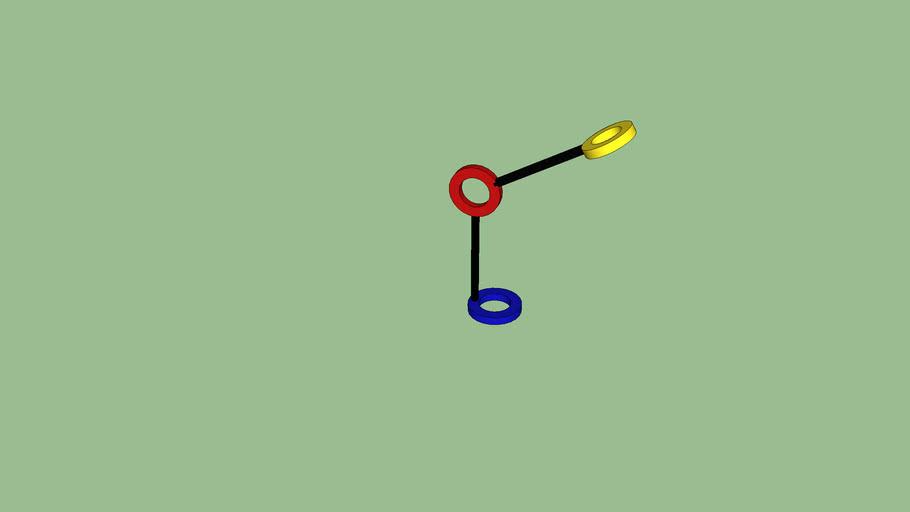 sketchup model of Lamp  Amuleto
