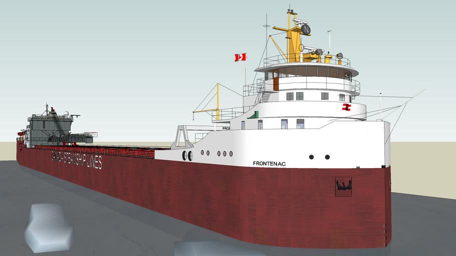 frontenac ship