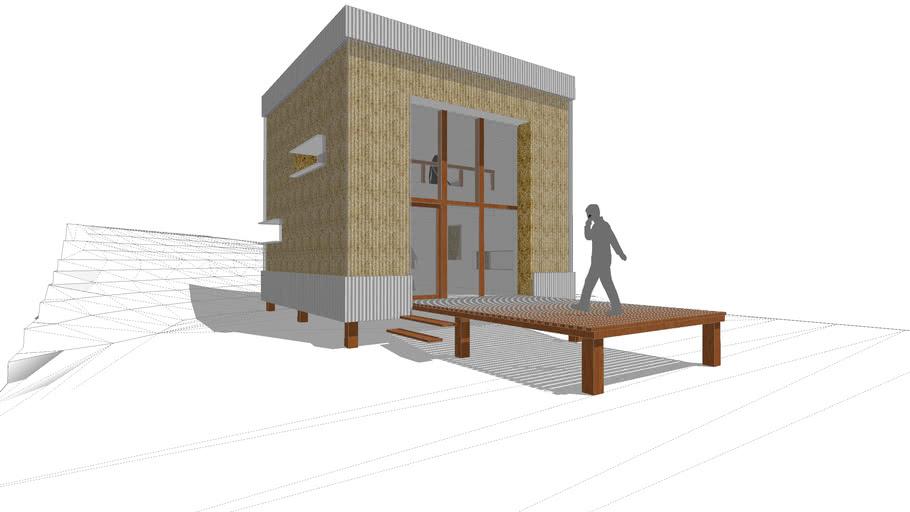 casa invitados aata arquitectos