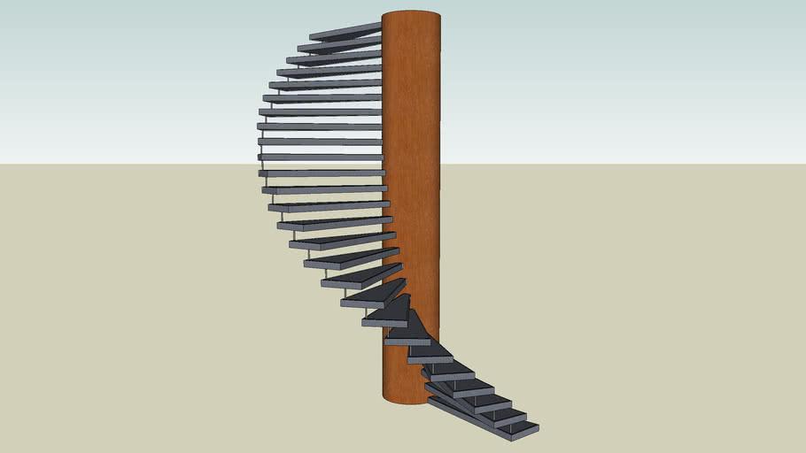 Escada Espiral 003