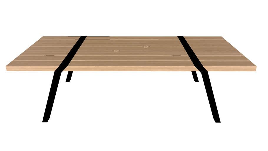 Pi03 outdoor table Pi design Roderick Fry for Moaroom