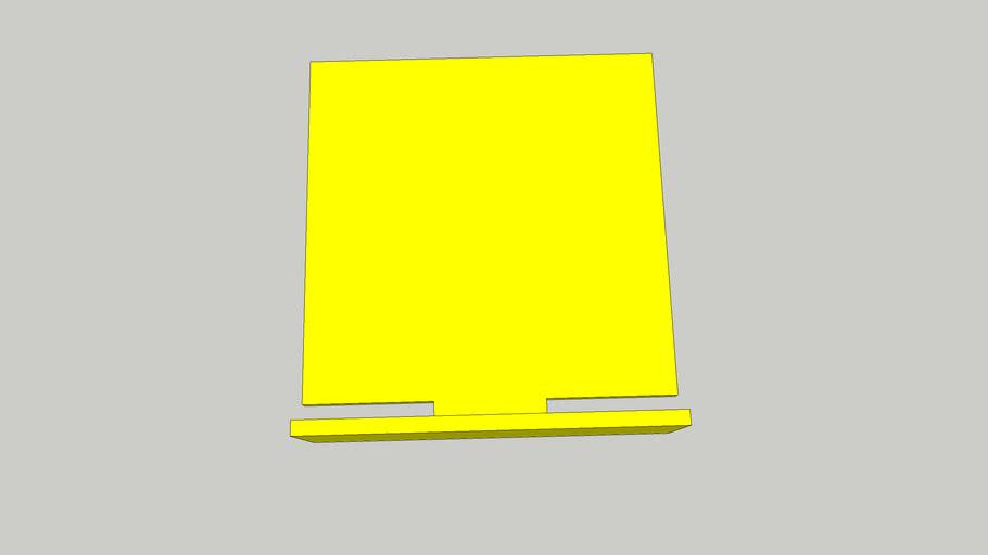 Plato cuadrado Air IPSC v1 - (Para impresion 3D)