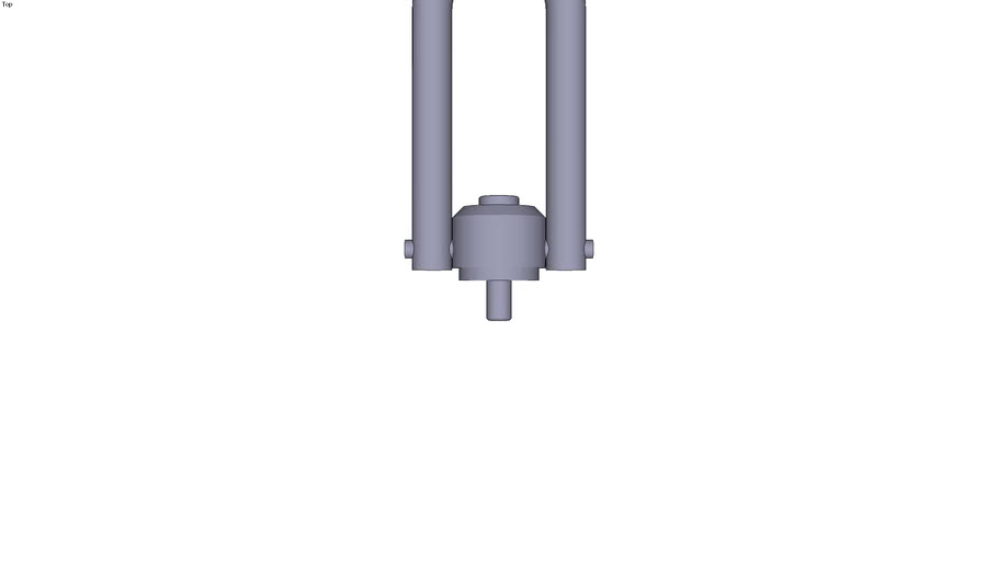 Long eye bolt M12