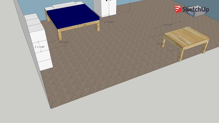 IB 3D Bedroom