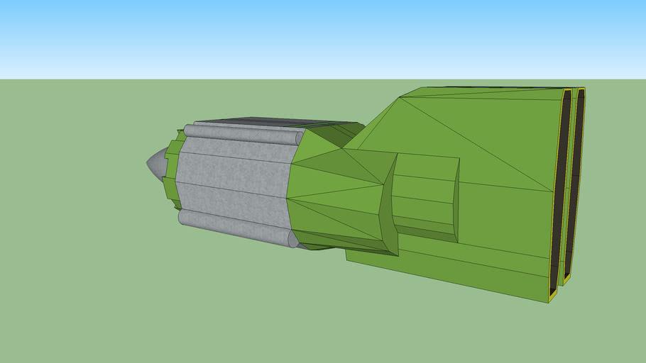 Gasgano pod racer engines