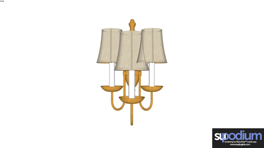 Podium Browser Generic3 WA light fixture