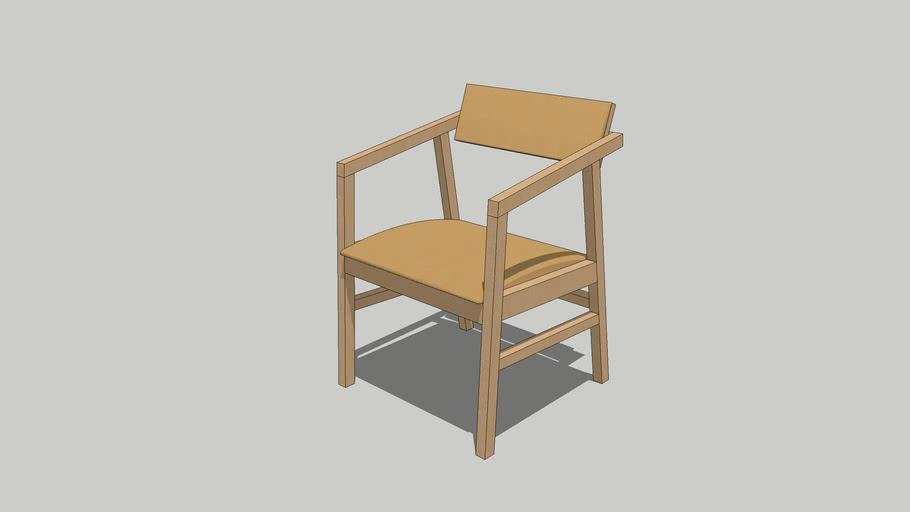 Cadeira Bulldog com Braço_Sérgio Fahrer_Casapronta