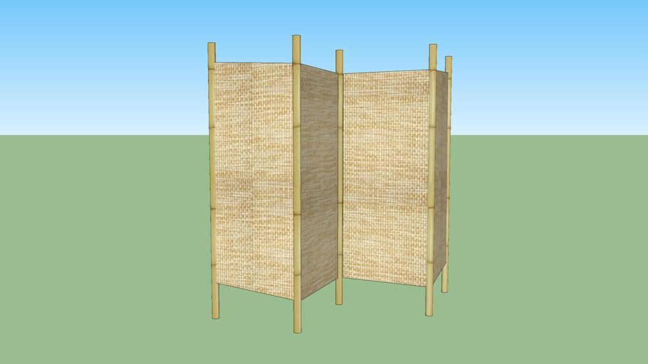 Biombo Bambu Oriental