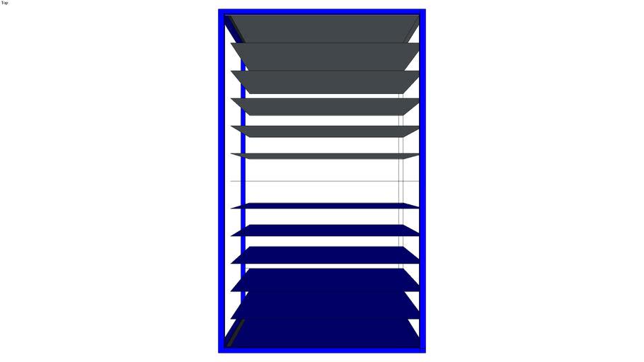 carrinho de lona painel de porta