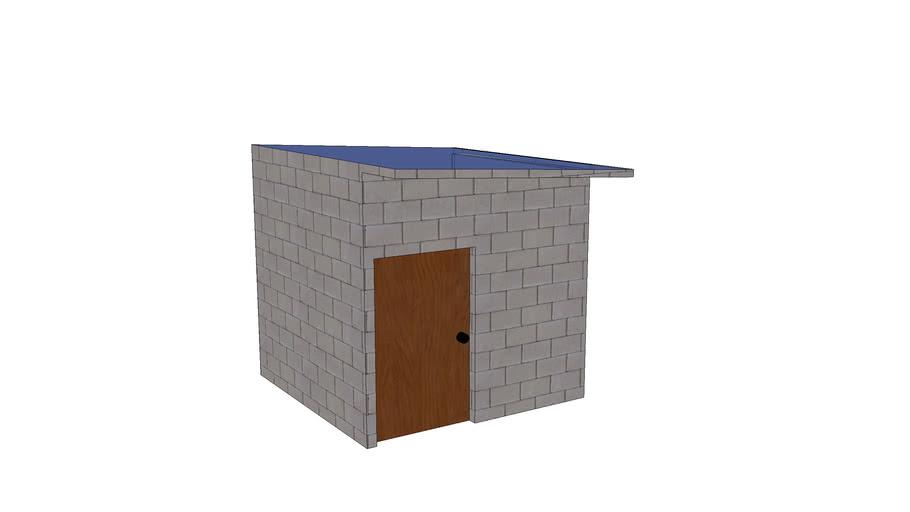 Concrete Sun Room