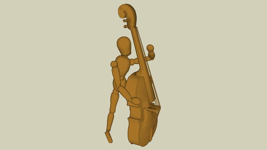 Musician Bass Upright