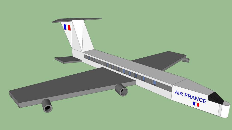 Avion de ligne Air France