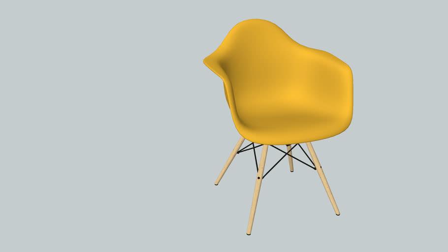 79. silla eames vitra amarilla