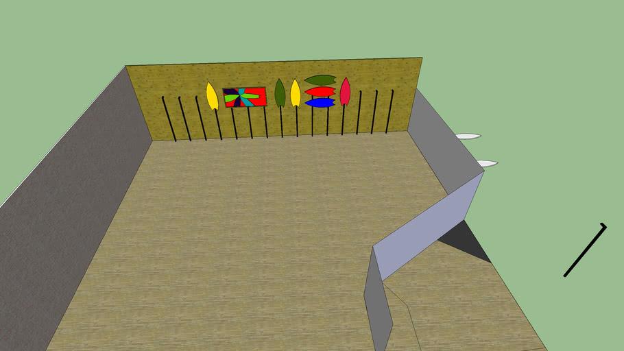 mens landing wall