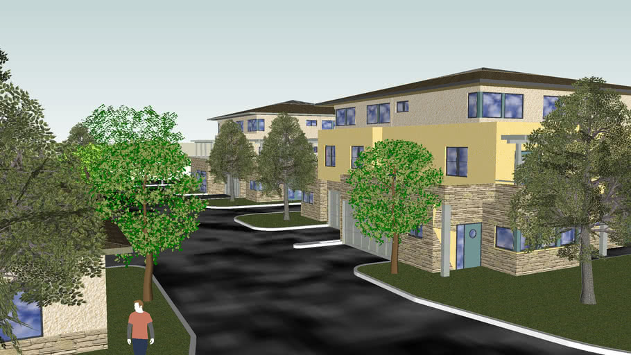 Proposed Hollister Ave Villa's