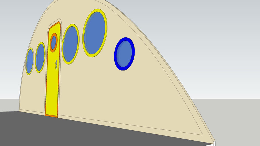 Space Age Caravan Thickness