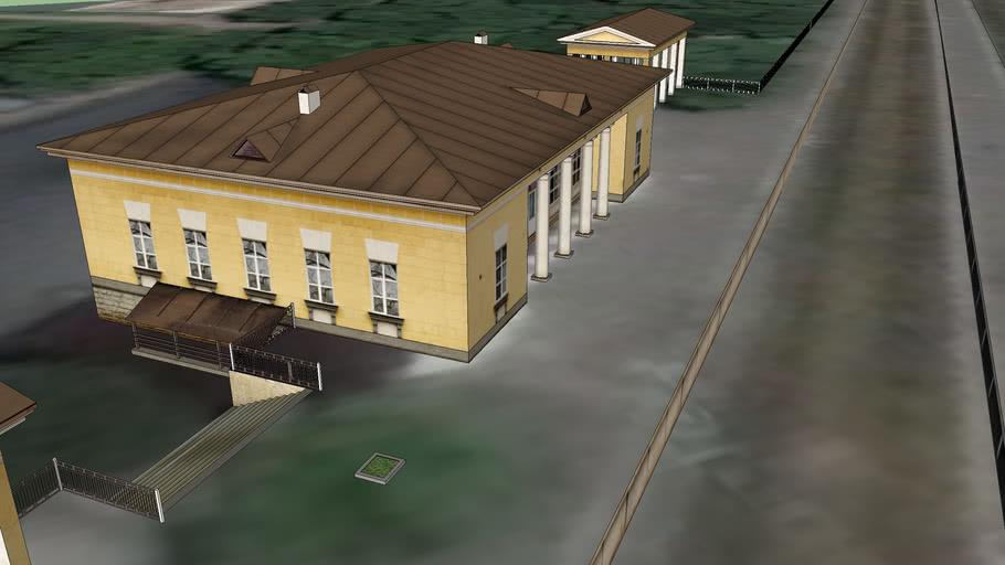 Балтийский вокзал г.Гатчина