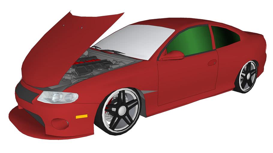 Lightly modified pontiac GTO