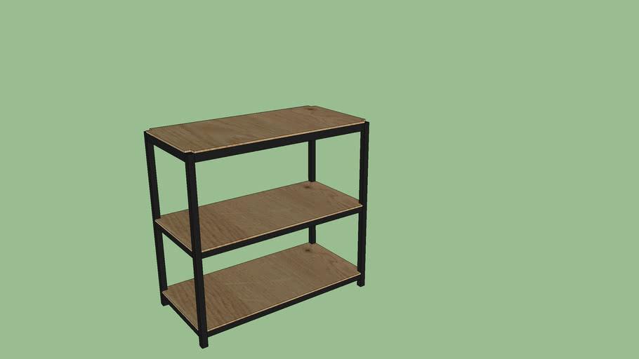 Bookcase 2 high Oakwood