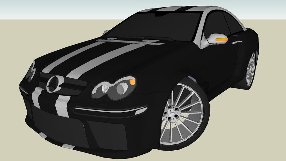 Tuned Mercedes-Benz CLK