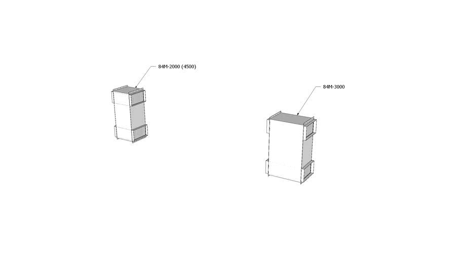Munters Series 84 Z Duct Heat Exchanger (84M-2000 & 84M-3000)