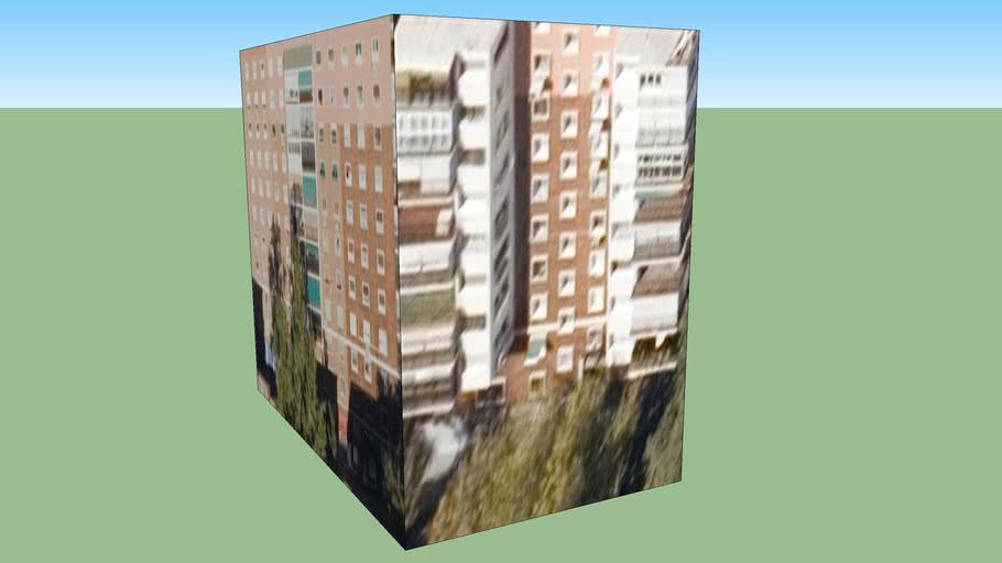 Building in Madrid, España