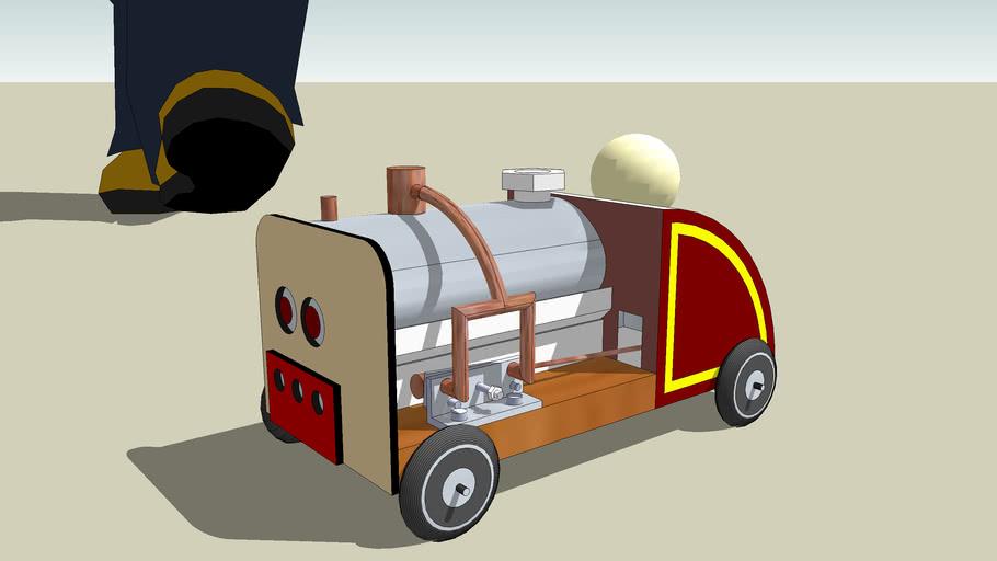 steam car toy