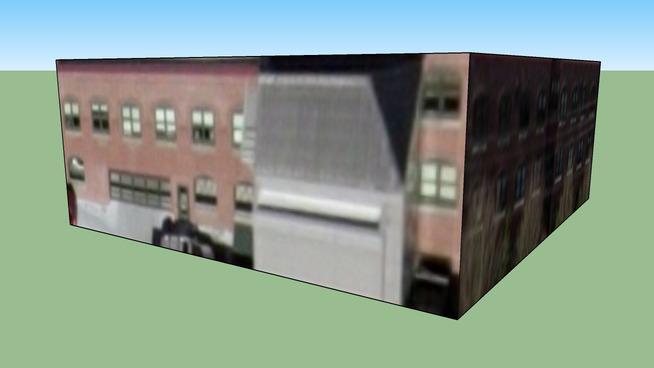 Building in Portland, Oregon, USA