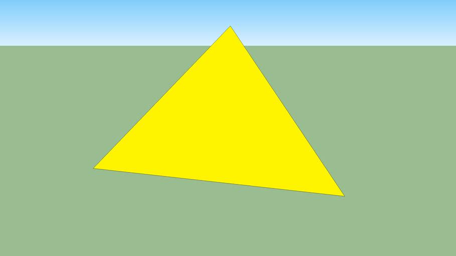 gold pyrimide