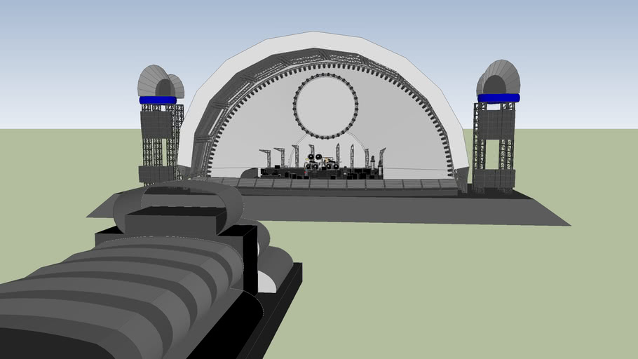 Pink Floyd Stage - Division Bell
