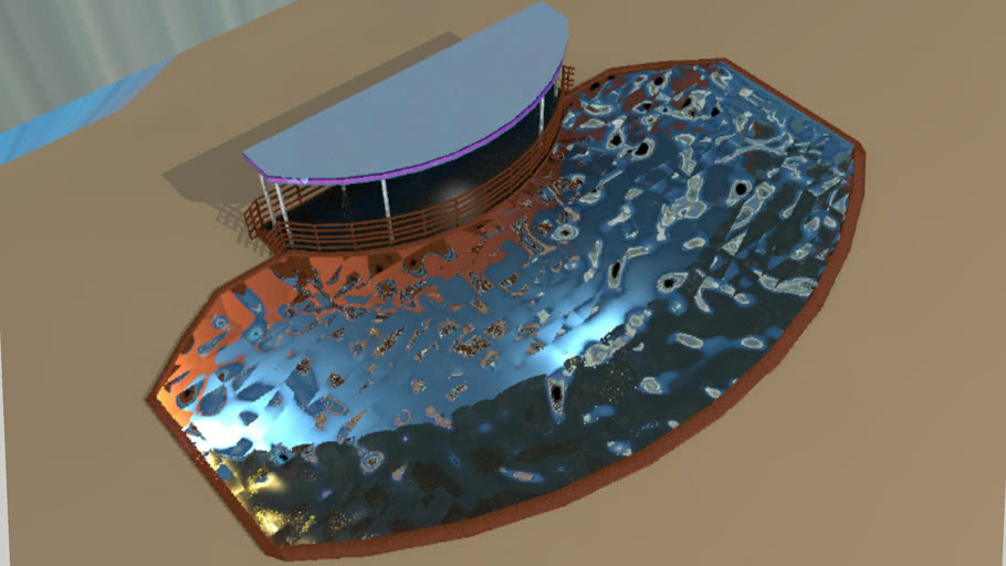 Cruise Ship Pool Style I
