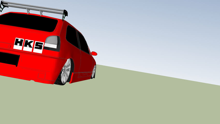 VW Gol Tuning