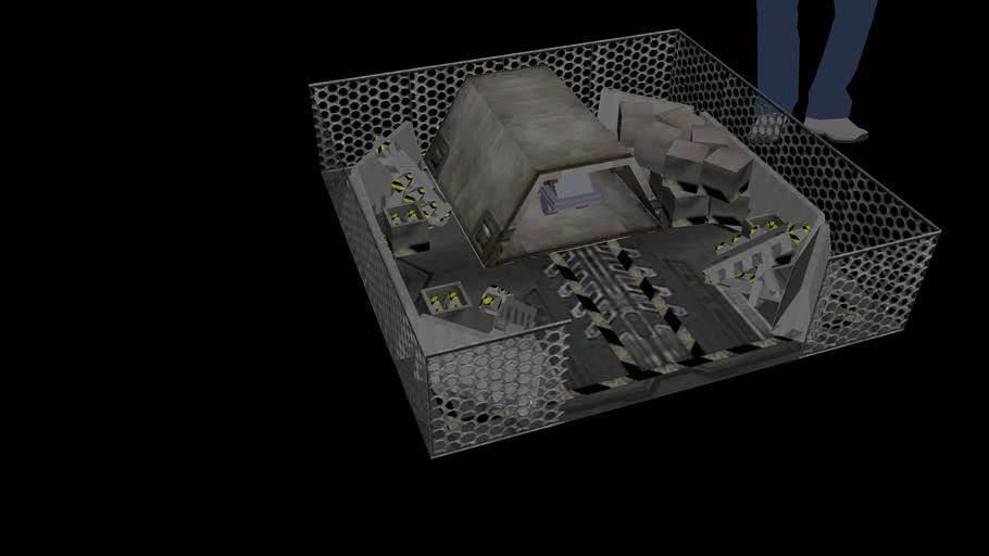 War Mouse Mini Fire Base