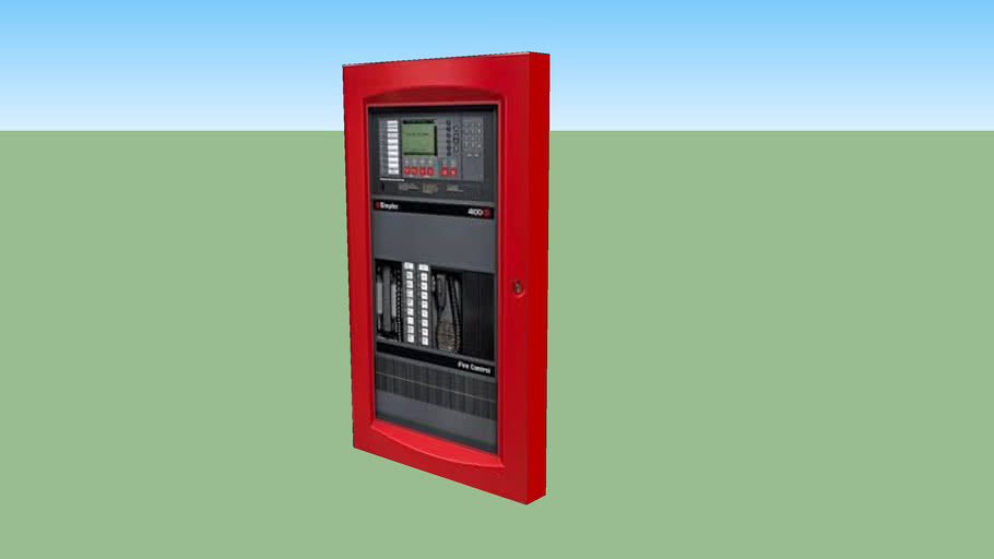 Simplex 4100 ES Fire Alarm Control Panel