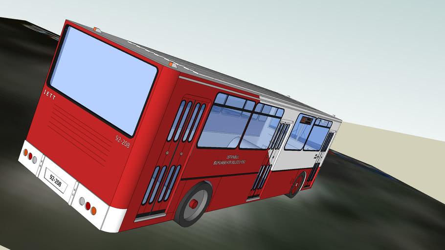 İKARUS Marka İETT Otobüsü