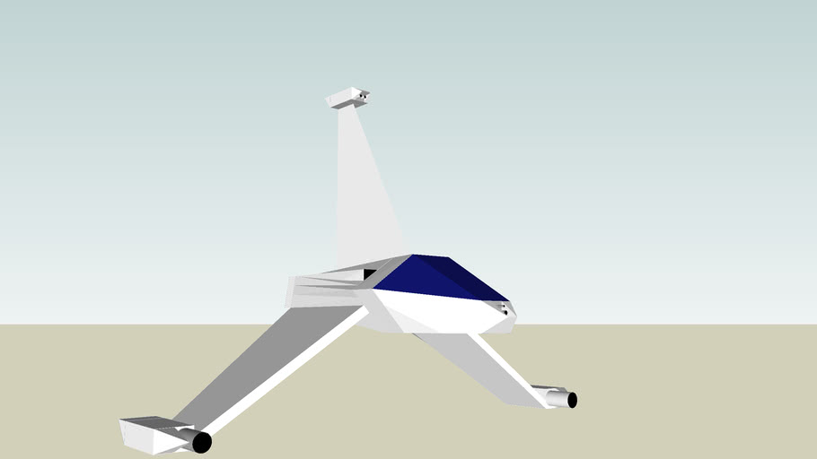 vaisseau spacial futuriste