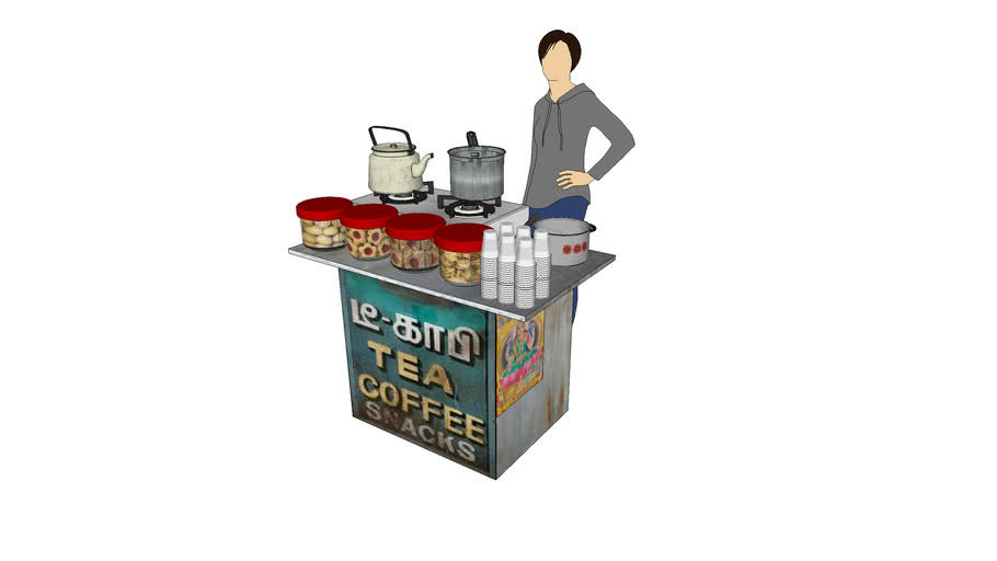 Indian chai / tea stall