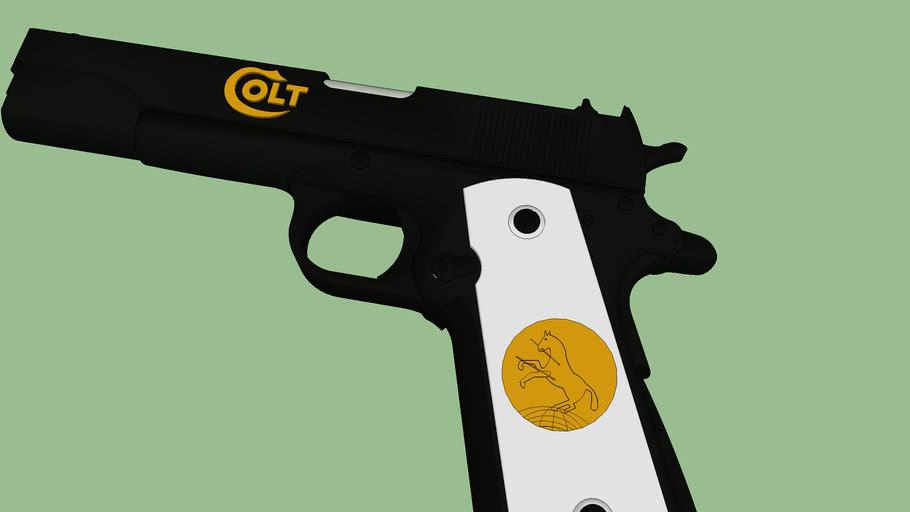 arma corta 45 colt