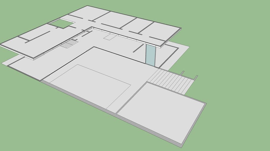 Modern House Floor Plan 3d Warehouse