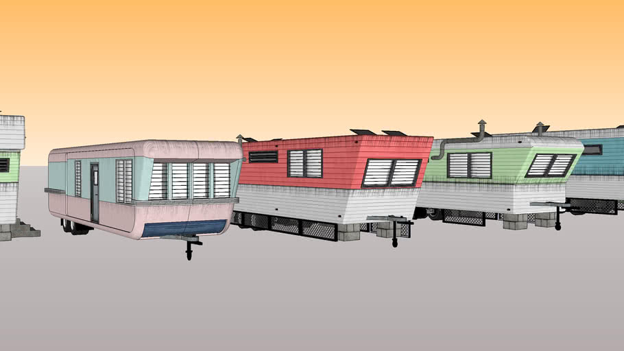Home mobiles and camping trailer