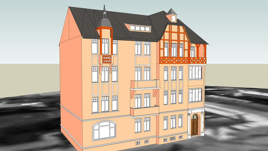 TENEMENT HOUSE ON 3 SLOWACKIEGO STREET IN BYDGOSZCZ