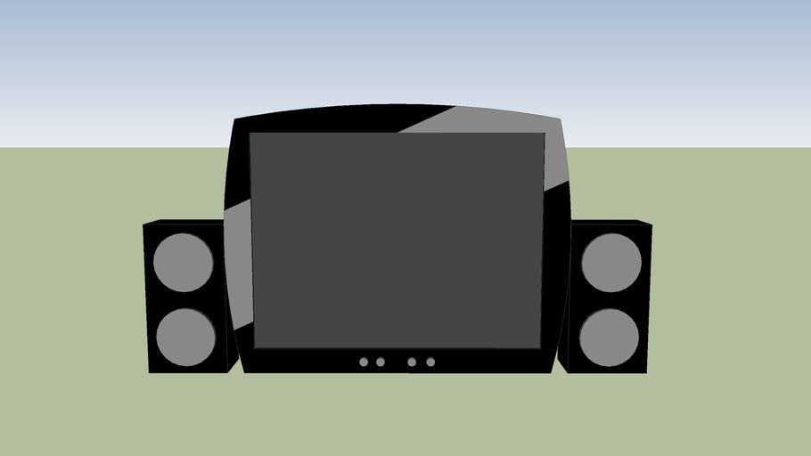 Small Hot Tube TV 2