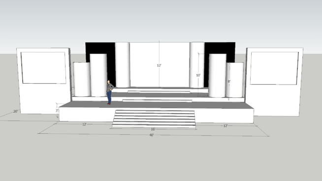 Stage Design Team Conqueror