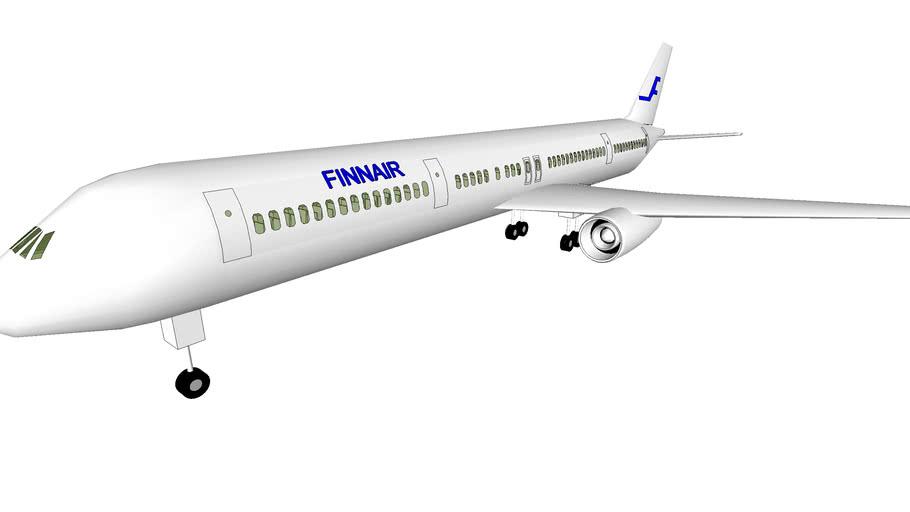 Finnair Airlines Boeing 767 (wrong)