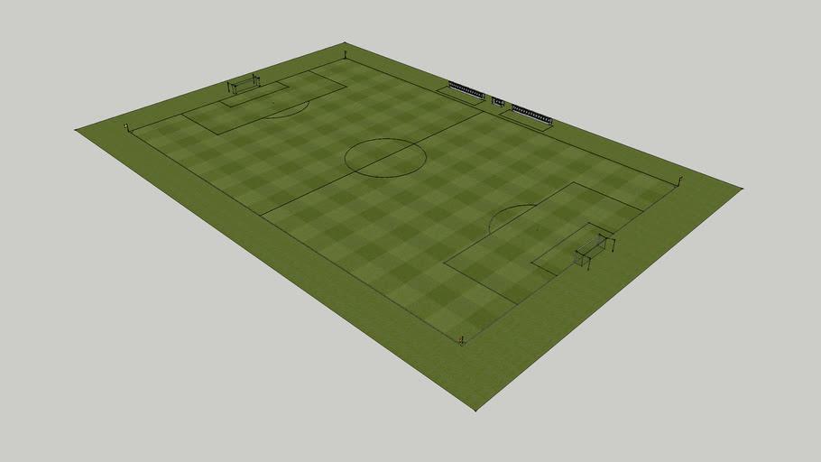 Standard Football Pitch
