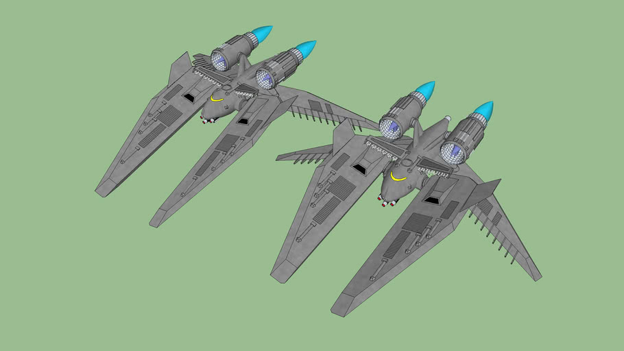 Nelson class heavy assault fighter