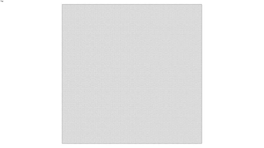 ROCKIT3D | Mesh Hexagon RAL7046