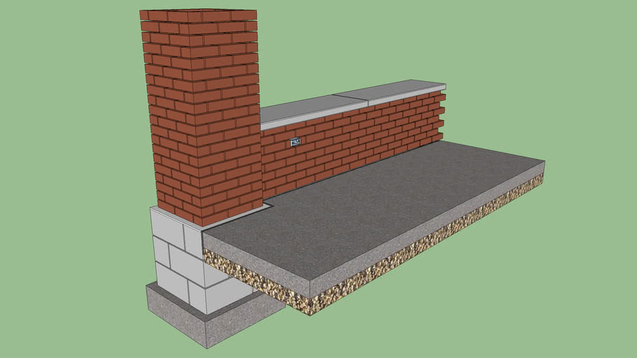 Pavilion foundation 2